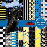 Batman Digital Paper DP3111 - Digital Paper Shop - 1