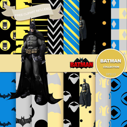 Batman Digital Paper DP3113 - Digital Paper Shop - 1