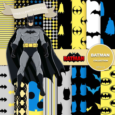 Batman Digital Paper DP3114 - Digital Paper Shop - 1