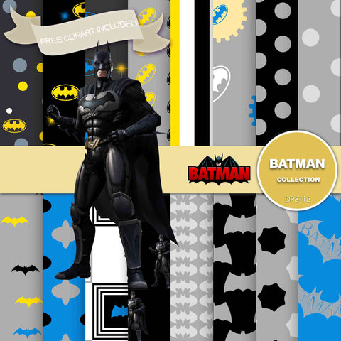 Batman Digital Paper DP3115 - Digital Paper Shop - 1