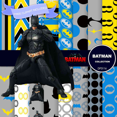 Batman Digital Paper DP3116 - Digital Paper Shop - 1