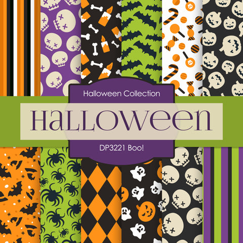 Boo! Digital Paper DP3221A