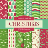 Christmas Digital Paper DP3222A