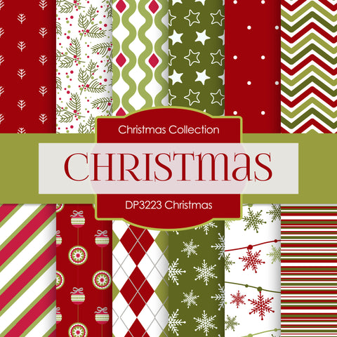 Christmas Digital Paper DP3223A