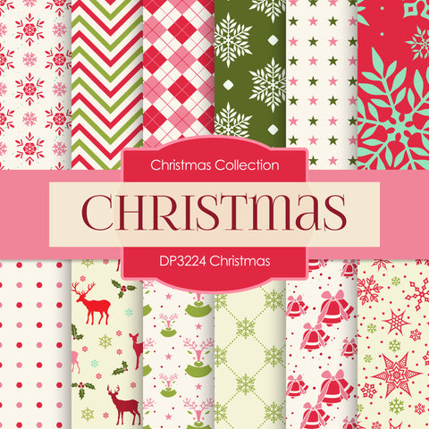 Christmas Digital Paper DP3224A