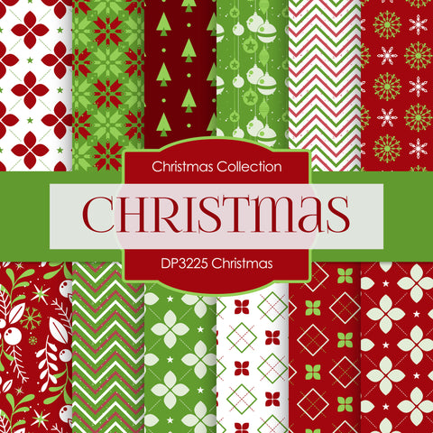 Christmas Digital Paper DP3225A
