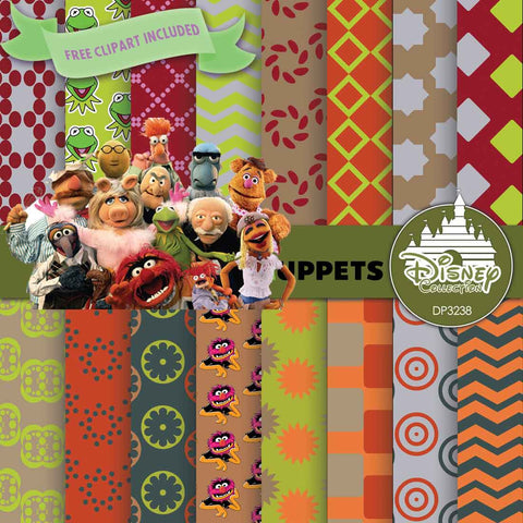 The Muppets Digital Paper DP3238 - Digital Paper Shop - 1