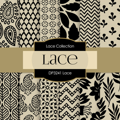 Lace Digital Paper DP3241A