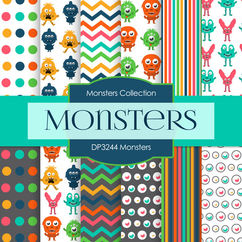 Monsters Digital Paper DP3244A