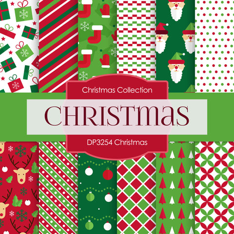 Christmas Digital Paper DP3254A