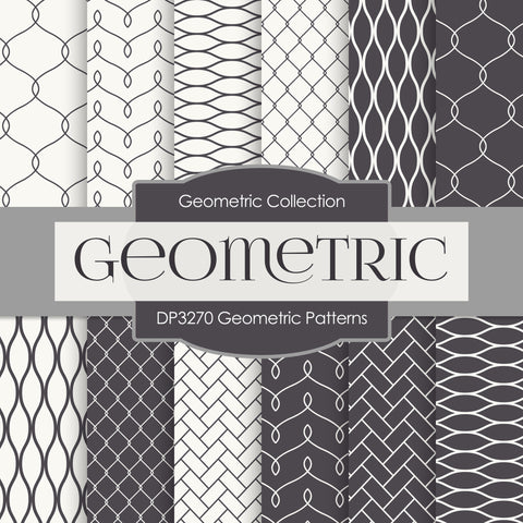 Geometric Patterns Digital Paper DP3270A