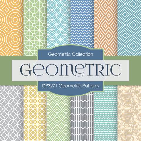 Geometric Patterns Digital Paper DP3271A
