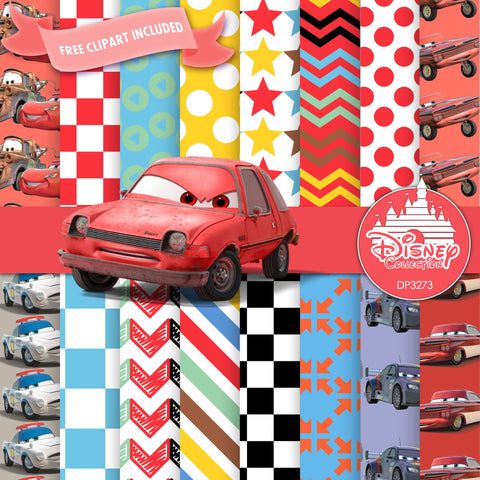 Cars Digital Paper DP3273 - Digital Paper Shop - 1