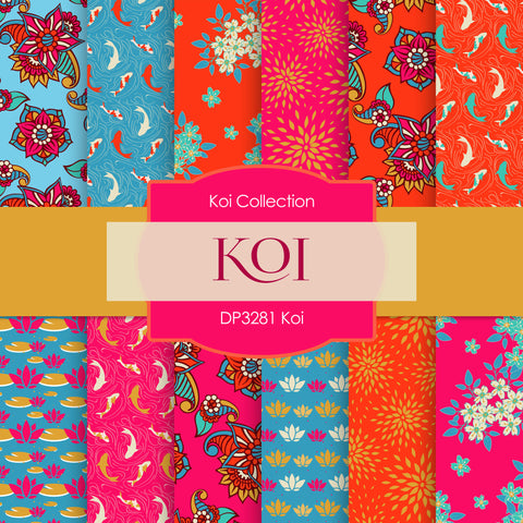 Koi Digital Paper DP3281