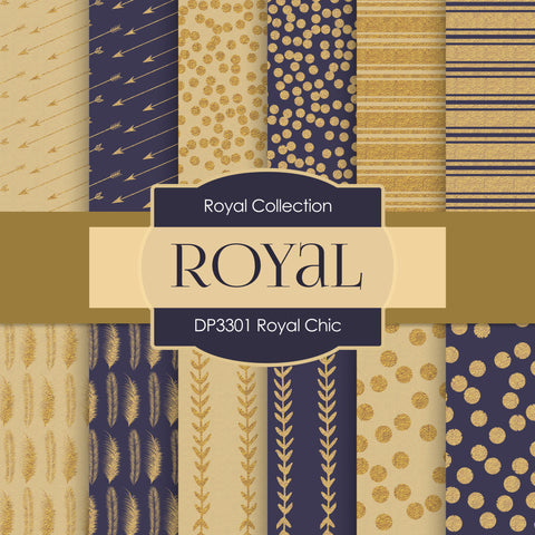 Royal Chic Digital Paper DP3301