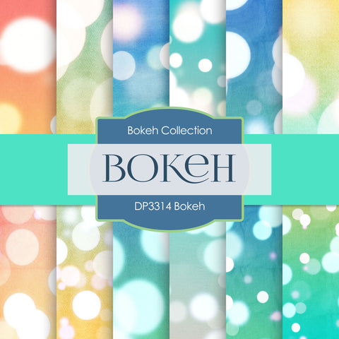 Bokeh Digital Paper DP3314