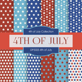 4th July Digital Paper DP3325