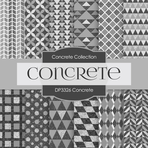 Concrete Digital Paper DP3326