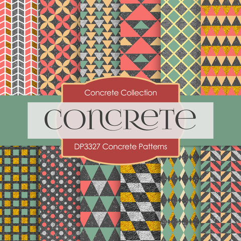 Concrete Patterns Digital Paper DP3327