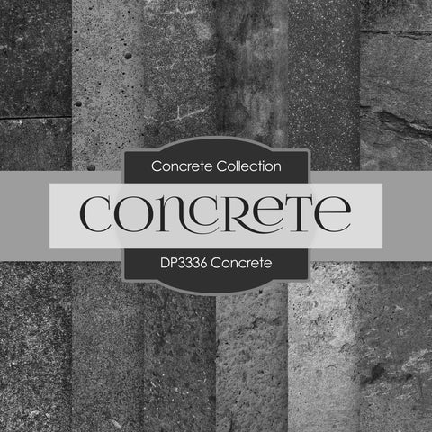 Concrete Digital Paper DP3336