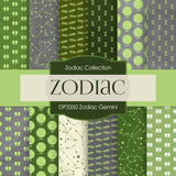Zodiac Gemini Digital Paper DP3350