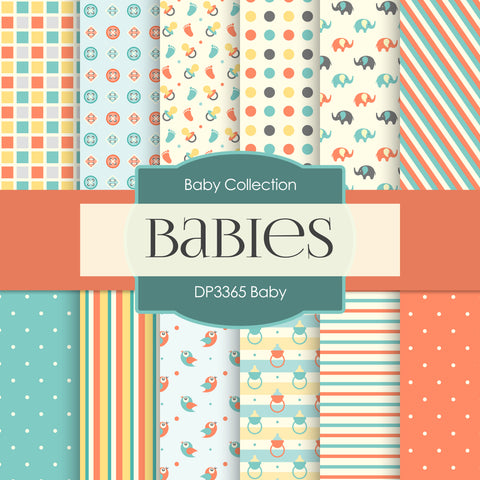 Baby Digital Paper DP3365