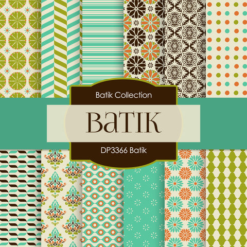 Batik Digital Paper DP3366
