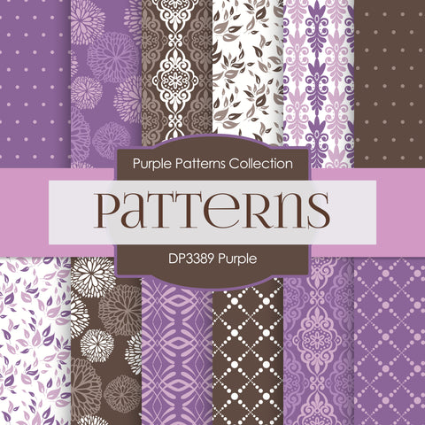 Purple Digital Paper DP3389