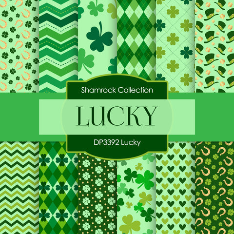 Lucky Digital Paper DP3392