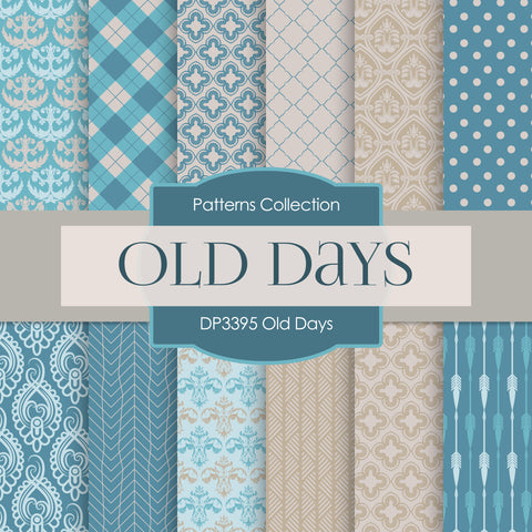 Old Days Digital Paper DP3395