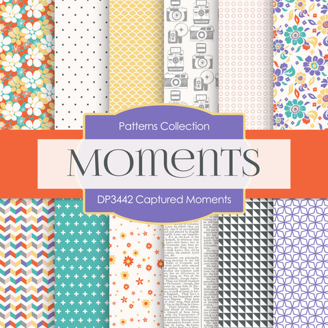 Captured Moments Digital Paper DP3442