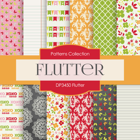 Flutter Digital Paper DP3450