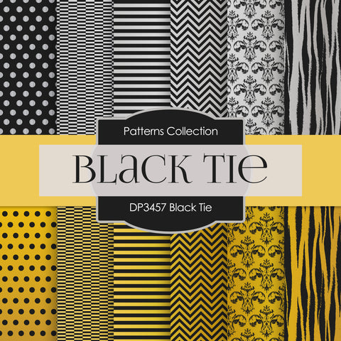 Black Tie Digital Paper DP3457