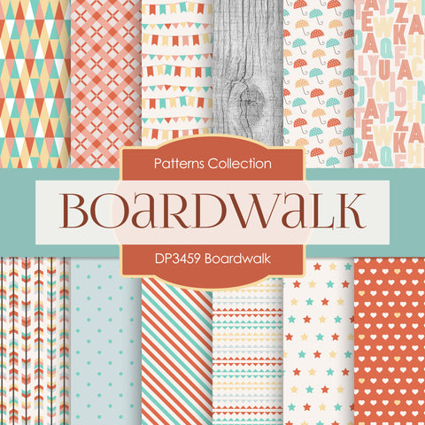Boardwalk Digital Paper DP3459