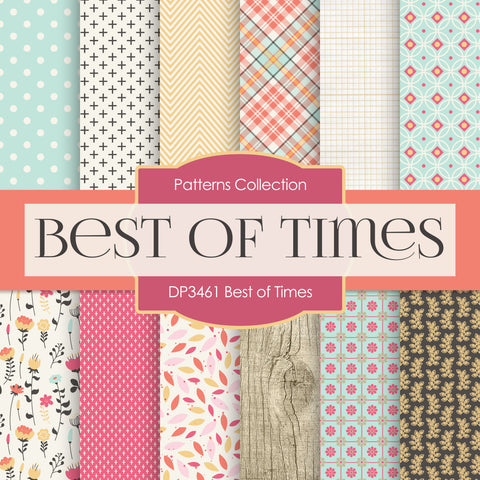 Best of Times Digital Paper DP3461