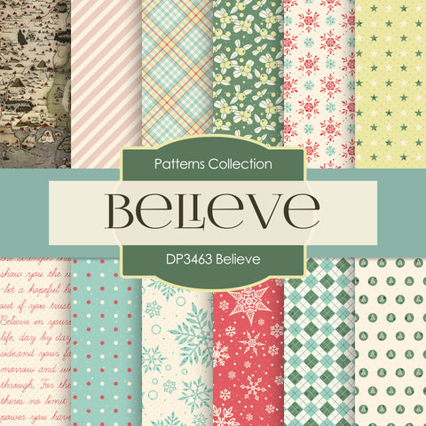 Believe Digital Paper DP3463