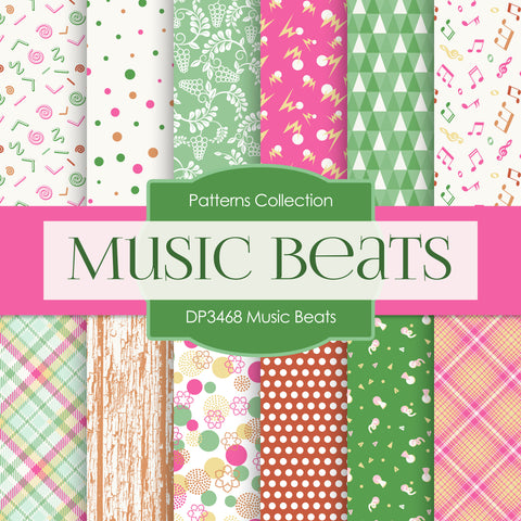 Music Beats Digital Paper DP3468