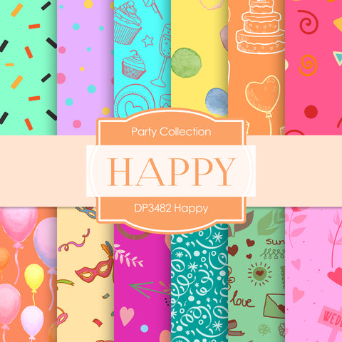 Happy Digital Paper DP3482