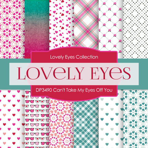 Can't Take My Eyes Off You Digital Paper DP3490A