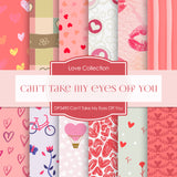 Can't Take My Eyes Off You Digital Paper DP3490