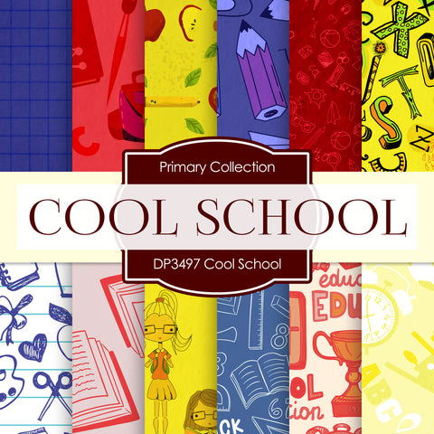 Cool School Digital Paper DP3497