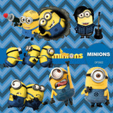 Minions Digital Paper DP3502 - Digital Paper Shop - 1
