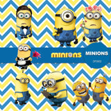 Minions Digital Paper DP3502 - Digital Paper Shop - 5