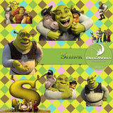 Shrek Digital Paper DP3519 - Digital Paper Shop - 2