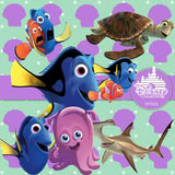 Finding Nemo Digital Paper DP3523 - Digital Paper Shop - 2