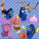 Finding Nemo Digital Paper DP3524 - Digital Paper Shop - 2