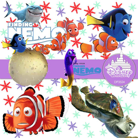 Finding Nemo Digital Paper DP3524 - Digital Paper Shop - 1