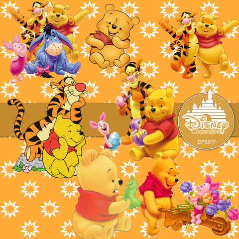 winnie the pooh digital paper dp3577 digital paper shop. Black Bedroom Furniture Sets. Home Design Ideas