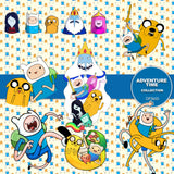 Adventure Time Digital Paper DP3655 - Digital Paper Shop - 4