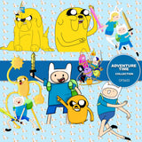 Adventure Time Digital Paper DP3655 - Digital Paper Shop - 1